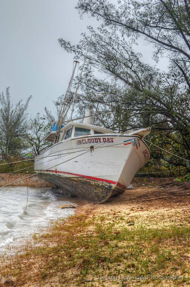 Perfect shooting day and sky for this well named boat in Nassau, The Bahamas by Jeremy Lavender Photography