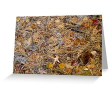 Fall Puzzle Greeting Card