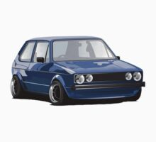 Volkswagen Mk1 Golf Rabbit Blue by erndub