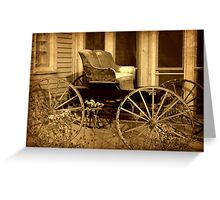 Carriage © Greeting Card