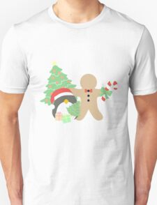 Penguin & Gingerbread #1 T-Shirt