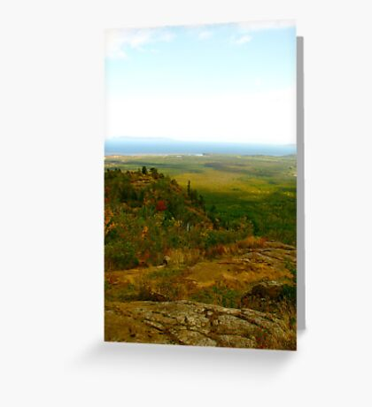 Thunder Bay from Above Greeting Card