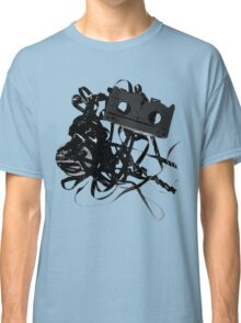 vhs tape splat montage Classic T-Shirt