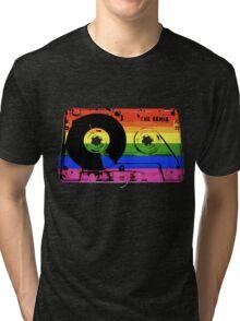 rainbow tape remix Tri-blend T-Shirt