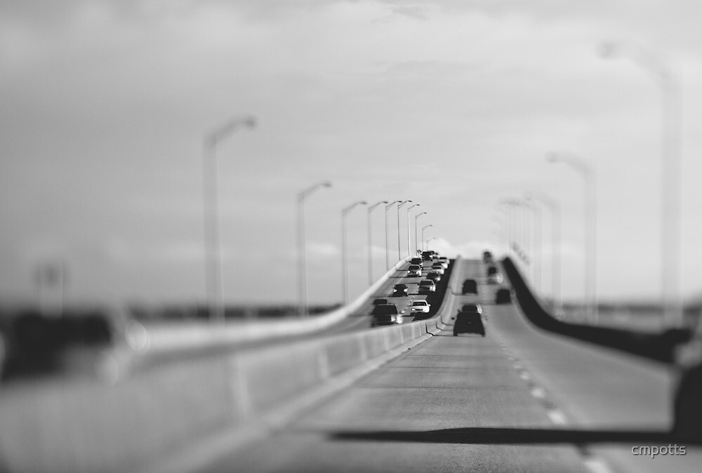 3 mile bridge, pensacola, florida by Carina Potts