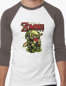 Legend of Zombie Men's Baseball ¾ T-Shirt