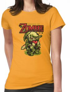 Legend of Zombie Womens Fitted T-Shirt