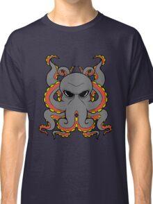 Insane Octopus Illustration. Classic T-Shirt