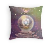Pollination of Creation Throw Pillow