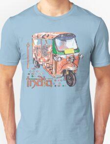 I LOVE INDIA T-shirt Unisex T-Shirt
