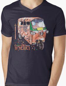 I LOVE INDIA T-shirt Mens V-Neck T-Shirt