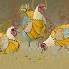 3 French Hens by CogsandCards