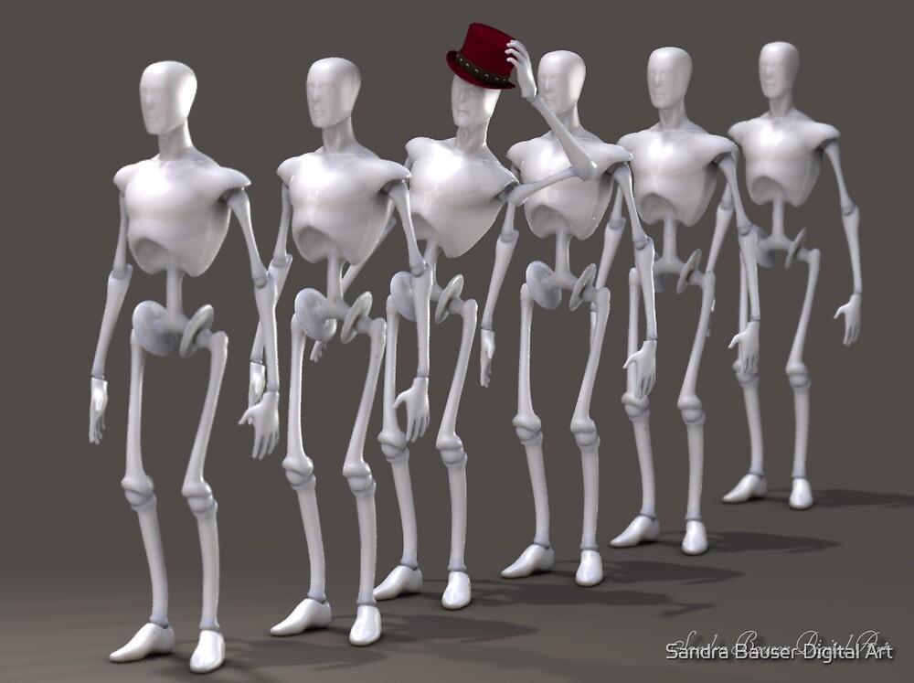 Individuality by Sandra Bauser Digital Art