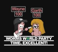 Worms World Party Time Kids Tee