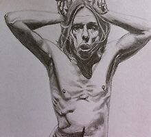 Iggy Pop by deeza