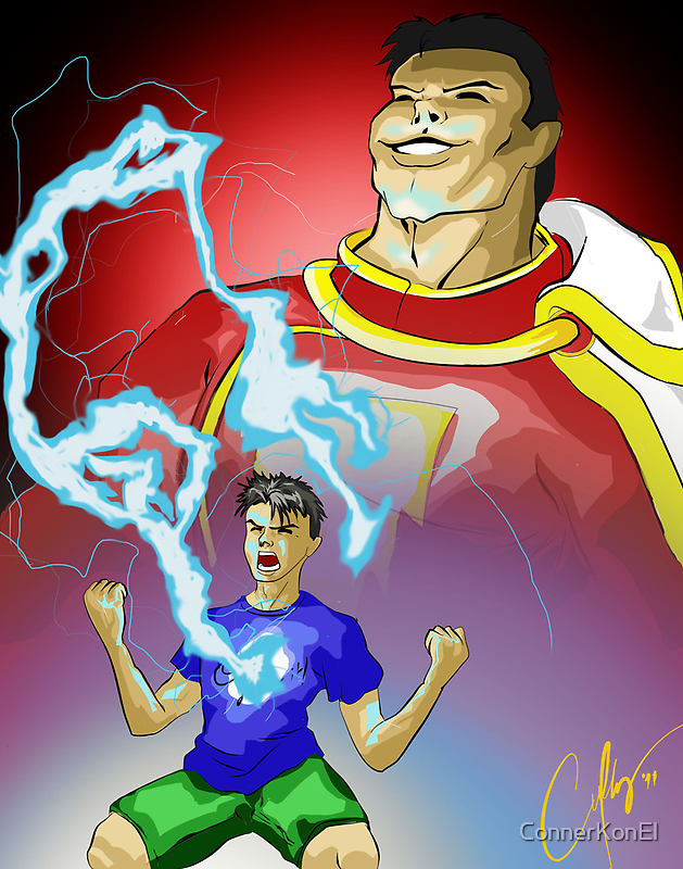 The Power of the Gods by ConnerKonEl