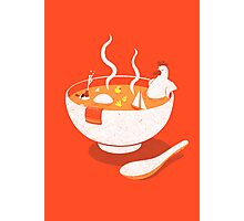 La Chicken Soup Photographic Print
