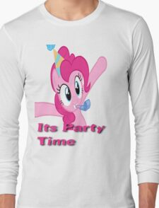 Pinkie Pie Party Time Long Sleeve T-Shirt