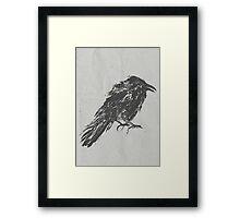 The Crow Framed Print