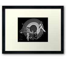 The Hoo Black and White Version (The Kids Owl Alright) Framed Print