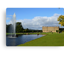 Chatsworth in September Canvas Print