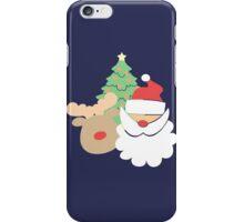 Santa & Reindeer #2 iPhone Case/Skin