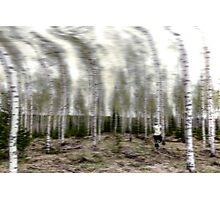 Solar wind Photographic Print
