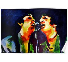 John and Paul Shea Stadium Poster