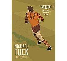 Michael Tuck, Hawthorn Clean As A Whistle version Photographic Print