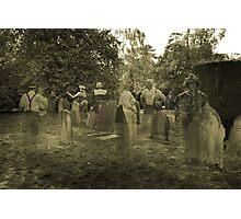 The Graveyard Photograph Photographic Print