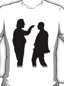 Bottom silhouette - Richie and Eddie T-Shirt