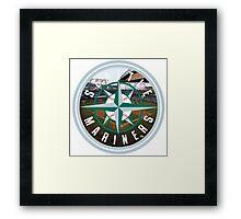 Seattle Mariners Stadium Logo Framed Print