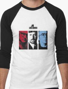 conspiracy theorists  Men's Baseball ¾ T-Shirt