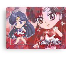 Chibi Sailor Mars  Canvas Print