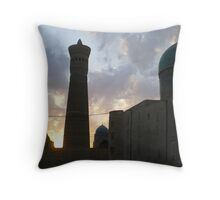 Minaret and Mosques Throw Pillow