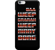 Universal Greeting iPhone Case/Skin
