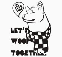 Woof woof shiba by kwinz