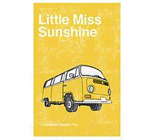 Little Miss Sunshine Minimalist Print  Photographic Print