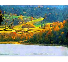 Solina lake Photographic Print