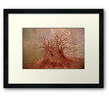 old man willow Framed Print