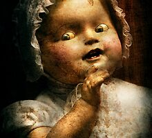 Creepy - Doll - Come play with me by Mike  Savad