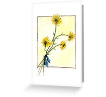 Black-eyed Susans Greeting Card