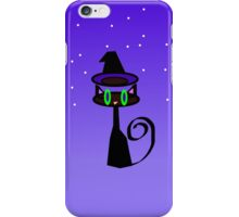 Witchy little cat iPhone Case/Skin