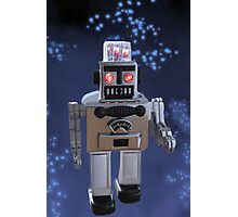 ⁀) ✫ ✫ ROBOT (COLLECTABLE) ⁀) ✫ ✫ Photographic Print