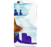 Booshy night on the rooftop iPhone Case/Skin