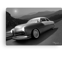 Moonlight Cruiser Canvas Print