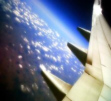 A view from the clouds.  by HeyPluto