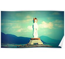 Guanyin of the South Sea of China Poster