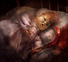 Creepy - Doll - Pleasant Dreams  by Mike  Savad