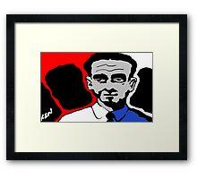 Mister Keystone Framed Print